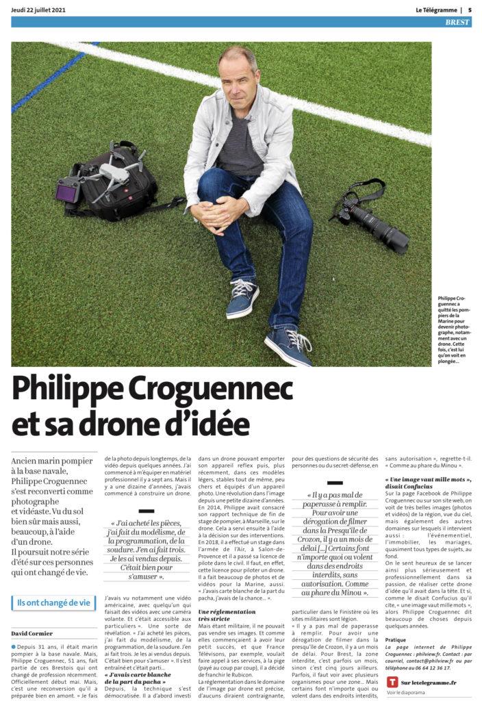 article Télégramme PHILVIEW