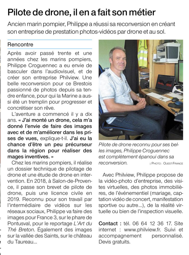 ouest france Philiview
